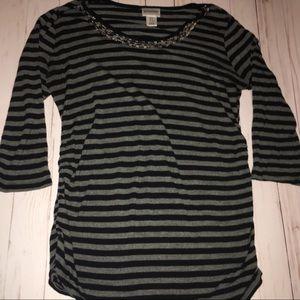 3/4 Sleeve Maternity T Shirt